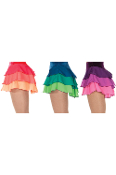 Jerrys 306 Ruffle Layer Figure Skating Skirt