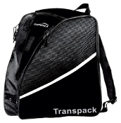 Transpack Solid Black Figure Skate Bag