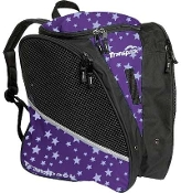 Transpack Purple Star Figure Skate Bag