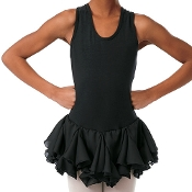 Childrens Georgette Skirted Dance Leotard