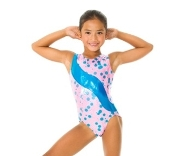 Mondor 17831 Bubblegum Girls Gymnastics Leotard