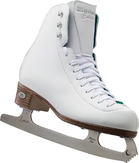 Riedell 119 Emerald Womens Ice Skates