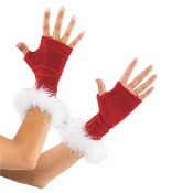 Holiday Velvet Gloves