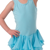 Camisole Georgette Skirted Leotard