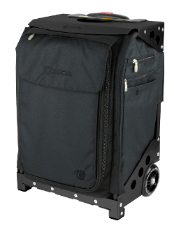 Zuca Flyer Travel Black Amp Black Carry On Luggage