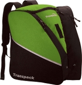 Transpack Solid Lime Green Figure Skate Bag