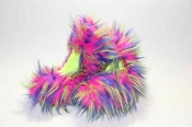 Fuzzy Soakers Crazy Fur - Hot Pink, Blue, Yellow