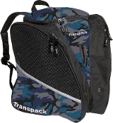Transpack Blue Camo Figure Skate Bag