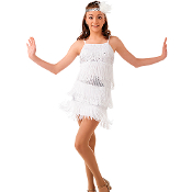 1920's Flapper Dance Dress