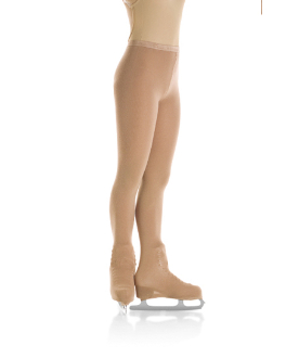Mondor 3302 Bamboo Boot Cover Figure Skating Tights