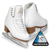 Girls Jackson Figure Skates
