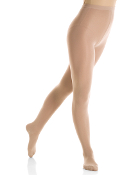 Mondor 3345 Knit Waist Footed Figure Skating Tights