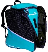 Transpack Solid Aqua Figure Skate Bag