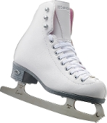 Riedell 14 Pearl Girls Figure Skates
