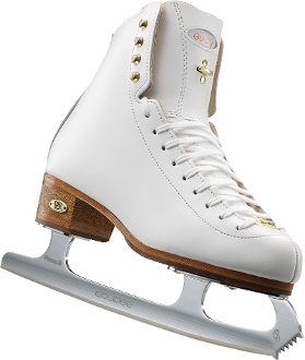 Riedell 1375 Gold Star Womens Figure Skate Boots