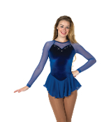 Jerry's 277 Diamante Figure Skating Dress