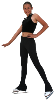 "ChloeNoel P23 2"" Waist Figure Skating Pants"