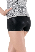 Balera Metallic Booty Dance & Cheer Shorts