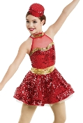 Sequin Christmas Holiday Costume