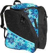 Transpack Blue Snowflake Figure Skating Bag