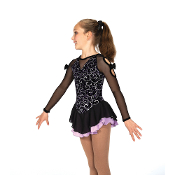 Jerry's 32 Bow To Bow Figure Skating Dress