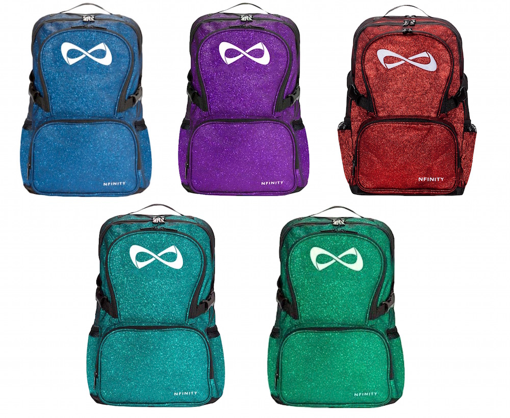 Nfinity Sparkle Backpack Cheer Bag Skate